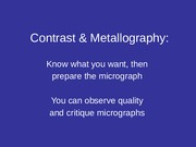 Contrast n Scopes_Metallography