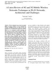 A-Latest-Review-of-4G-and-5G-Mobile-Wireless-Networks-Techniques-in-Wi-Fi-Networks-Architecture-and-