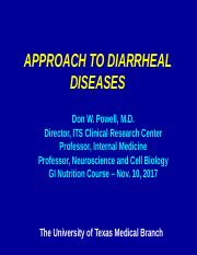 Lecture15 Pathophysiology of  Diarrheal  Illness.pptx
