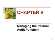 ACC 451 Chapter 9 Lecture