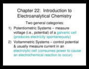 Instrumental Lecture 21 Electrochem