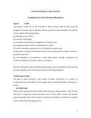 CONSTITUTIONAL LAW II NOTES_LAND0001