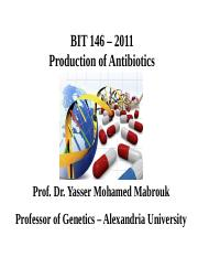 ProductionofAntibiotics