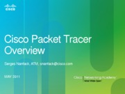 Cisco Packet Tracer Overview April2011