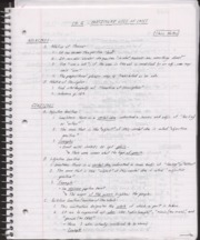 Ch. 16 Class Notes, particular uses of cases