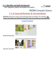 Copy of 1.1.6 Journal Entries & Screenshots (TUTORIALS)