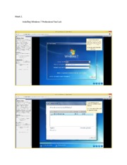 Installing Windows 7 Professional Tool Wire Lab
