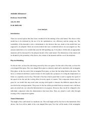 Analytical essay and bibliography