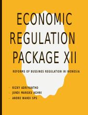 Economic Regulation Package Jilid 12.pptx