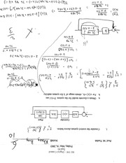 Control Systems Equation