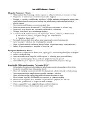 Ch. 30-Pulmonary notes