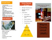 Wayne County Circuit Court Brochure