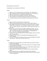 Study Questions for Unit Test 3.docx