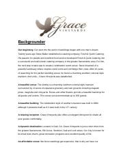 grace vineyards backgrounder.docx