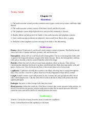 Health Main Ideas and Terms ch 15 & 25.docx