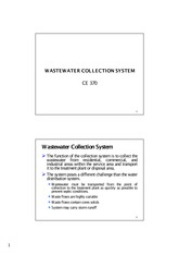Wastewater collection system