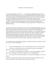 christian worldview response paper Personal worldview essay my worldview has been shaped and expanded over the course of my lifetime  christian worldview paper  response to self-reliance by ralph.