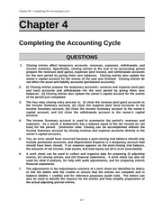 Acct 211 Chap004 Solutions manual