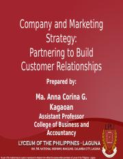 3. Company and Marketing Strategy-Partnering to Build Customer Relationships_new