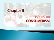 CHAPTER_5_ISSUES_IN_CONSUMERISM PM501