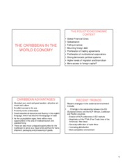 THE_CARIBBEAN_IN_THE_WORLD_ECONOMY_SPRING_2009 Lec3(b)