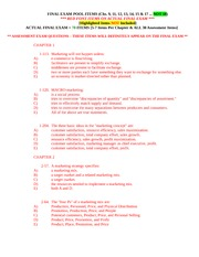 Final Exam Pool Items-1