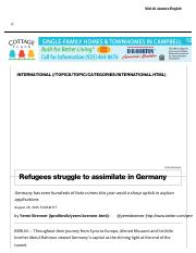 Refugees Struggle to Assimilate in Germany _ Al Jazeera America.pdf
