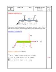 MTE119 - Solutions Hw6