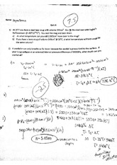 Physics 11 Quiz 6