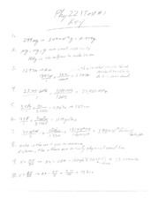 Test 1 Key p.1 physics 221 summer 1 08