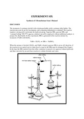 Expt 06 - Synthesis of t-Butyl Bromide