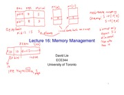 ECE344-Lecture16-Memory Management