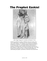 "how prophet ezekiel was different from other prophets in the bible Who was ezekiel in the bible the phrase ""son of man"" means something different in the book of ezekiel in the common english bible, that prophet is."