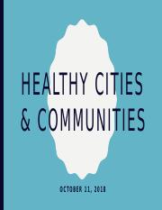 Oct 11 Healthy Cities.pptx