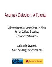 09 Anomaly Detection