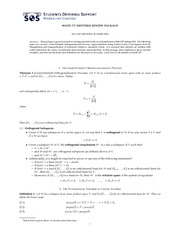 Math235Midterm2Review