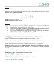 MATH203_Assignment2