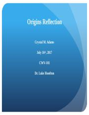 Origins Reflection.pptx