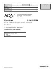 Aqa chm6x ins jun13 gce chemistry data sheet wmpinsert to a 4 pages aqa chm6x pm1 jun12 urtaz Images