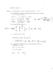 MATH 152 MIDTERM 1 2009 SOLUTIONS