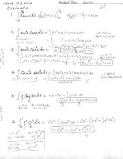 Integrals in terms of Pi Quiz