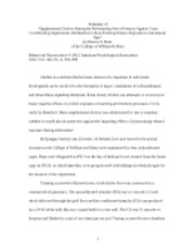 behavior modification paper behavior modification assignment most popular documents for psych 112