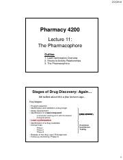 Ph4200-Lecture11-Pharmacophore