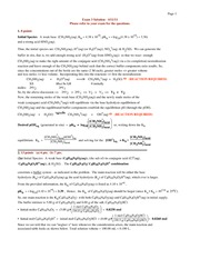 Chem102 Exam3 2011 Solutions