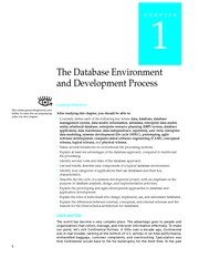 Modern Database Management - Chapter01 Database Environment and Development Process