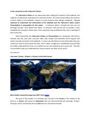 Instructor's Notes Chapter 1 Ocean in the Earth System.doc