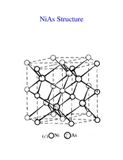 NiAs Structure