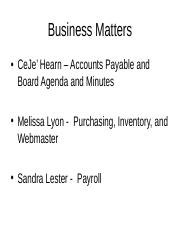 Business Matters.ppt
