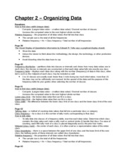 Study Guide - Chapter 2