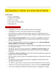 Lecture 2. Introduction to Encryption v2